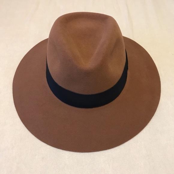 f75602d0abc NWOT Rag   Bone Fedora Hat. M 5baa2f9ed6dc52a8b471338a